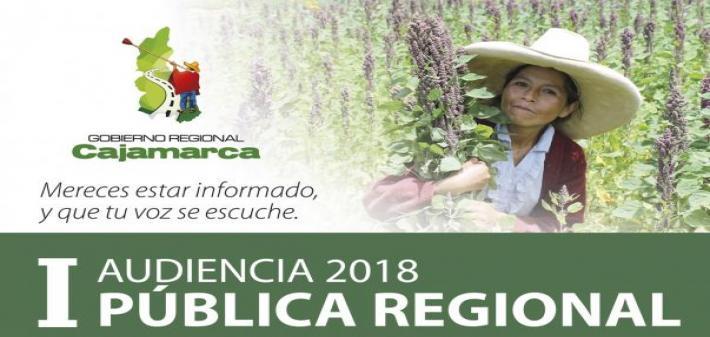 I Audiencia Pública Regional 2018