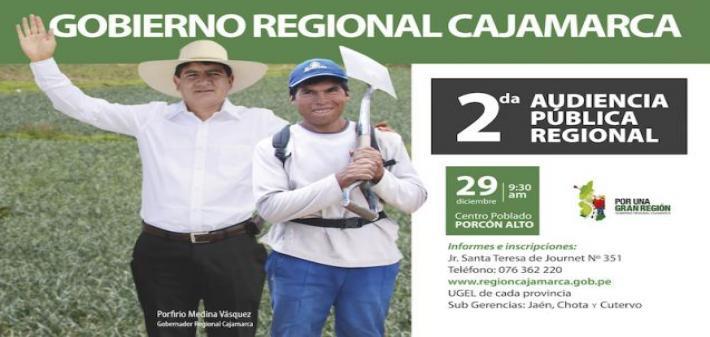 II Audiencia Pública Regional 2017