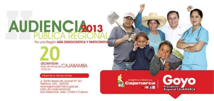 II Audiencia Pública Regional 2013 - viernes 20 de diciembre de 2013