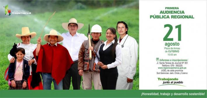 Primera Audiencia Pública Regional 2015
